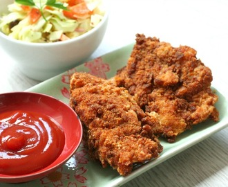 RECEPT: healthy fried chicken (KFC kip) - This Girl Can Cook