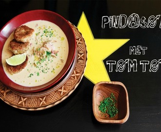 RECEPT: pindasoep met tomtom à la Suri Anders - This Girl Can Cook