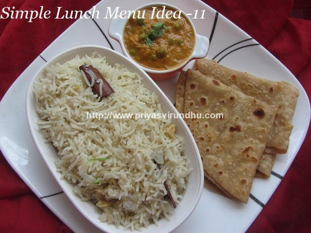 Simple Lunch Menu -11/Quick, Flavourful & Easy Lunch Menu Idea/Simple Vegetarian Lunch Menu