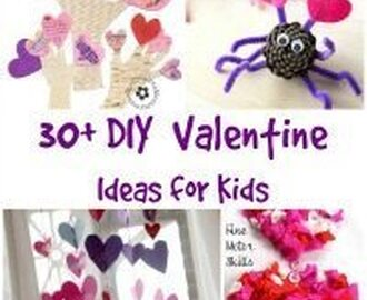 30 DIY Valentine's Day Ideas for Kids