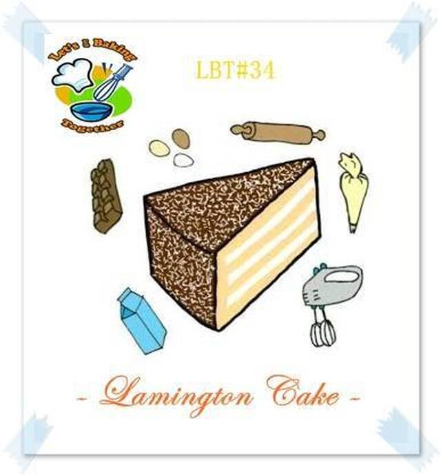 LBT #34 LAMINGTON CAKE
