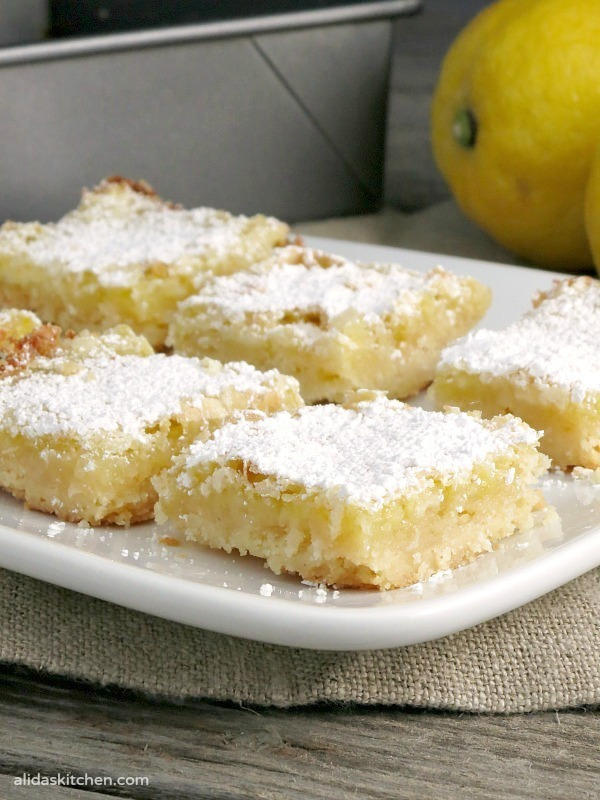 Grandma's Lemon Bars #SundaySupper