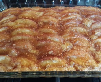 FRESH PEACH KUCHEN