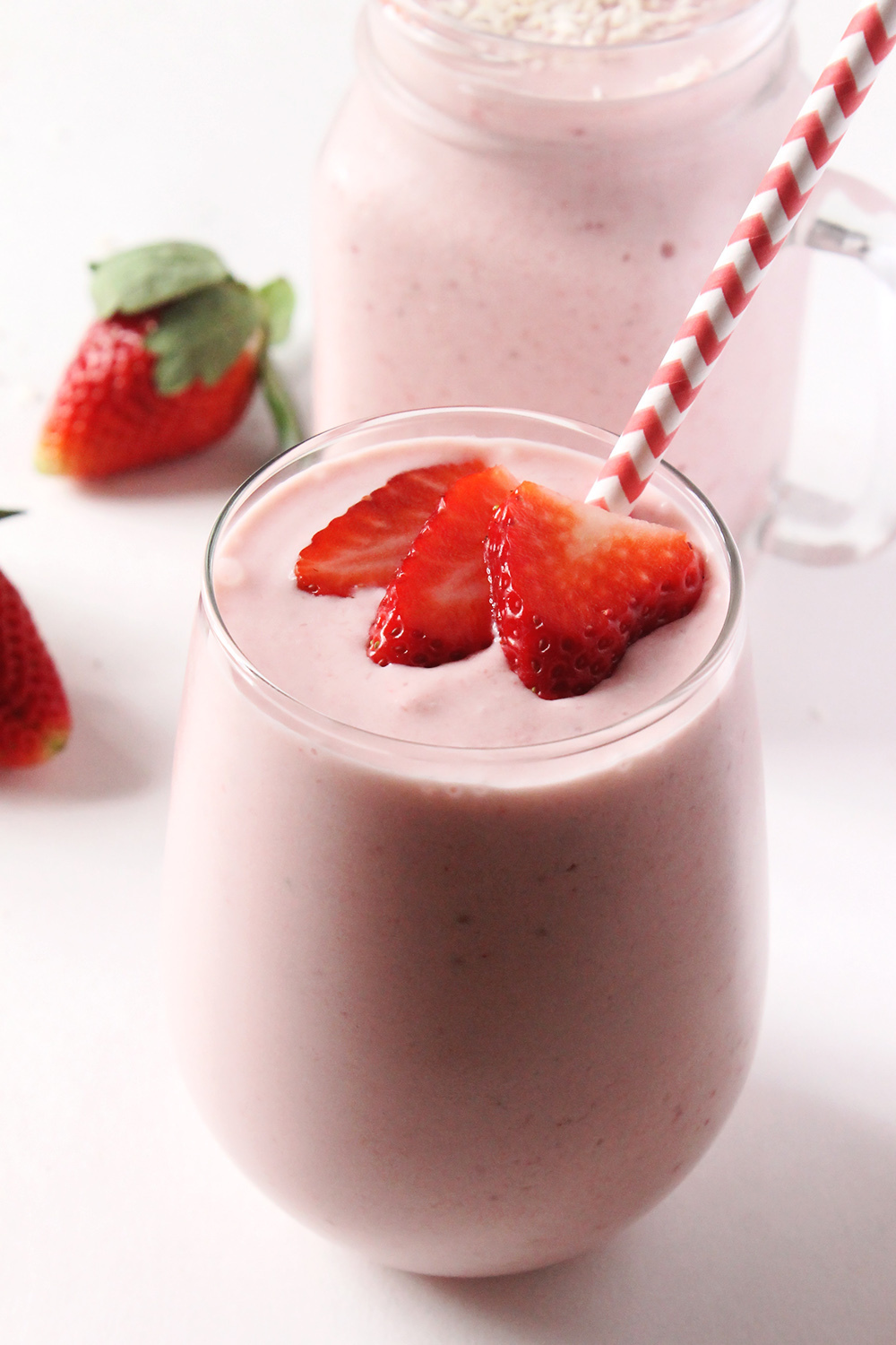 Strawberry Piña Colada Smoothie