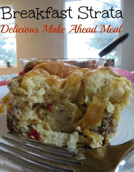 Breakfast Strata – Delicious Make Ahead Meal
