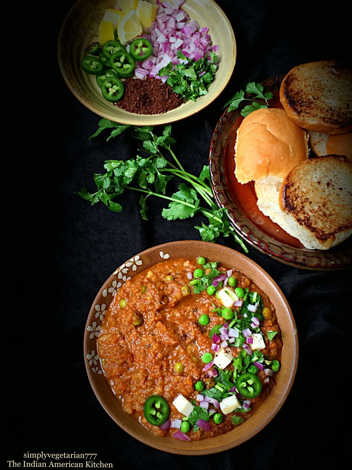 Instant Pot Pav Bhaji Recipe