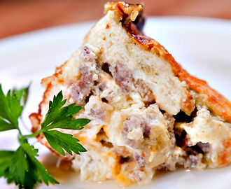 Diabetic Breakfast Recipes-Sausage Strata