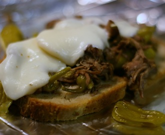 Peperoncini Beef Sandwiches Slow Cooker Recipe