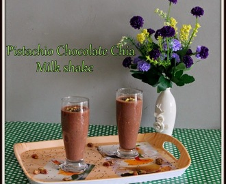 Pistachio Chia seeds Cocoa Milk shake | Pista Chia Chocolate Milk Shake | Chia seeds Recipes | Chocolate Drinks Using Cocoa