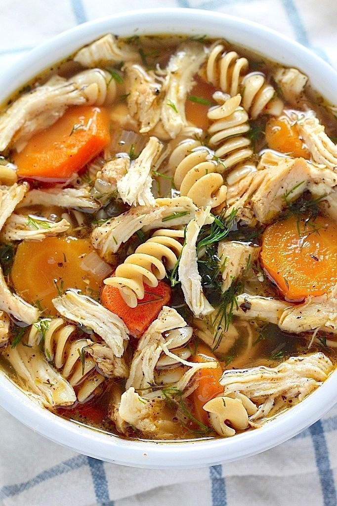 Our Favorite Chicken Noodle Soup
