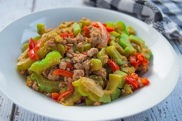 Ampalaya With Ground Pork
