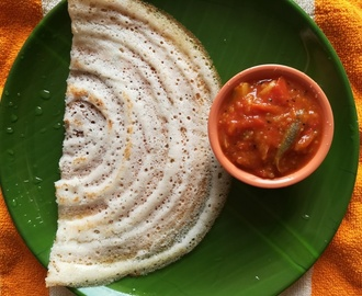 Tomato Brinjal Chutney for dosa, How to make Tomato Brinjal Chutney,  Kathirikai Chutney