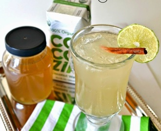 Coconut Lime Ginger Ale