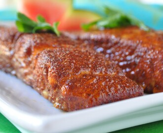 Roasted Salmon Recipe with 5-Ingredient Rub For Quick Salmon Dinner
