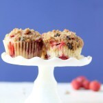Dark Chocolate Strawberry Muffins (Video)