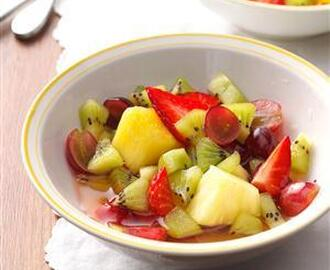 Tequila-Lime Fruit Salad Recipe