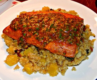 Tea Smoked Salmon ♥ Start Smoking in the New Year - Recipe ReDux Challenge January 2015