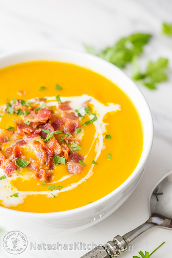 Creamy Sweet Potato Coconut Soup Recipe