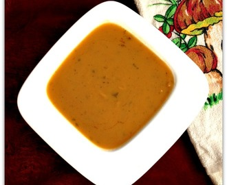 Sweet and Savory Roasted Sweet Potato Soup