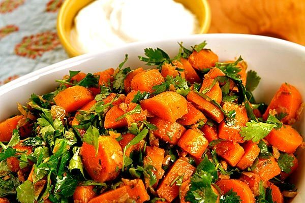 Easy Swiss Chard Carrot Salad With Tahini Dressing