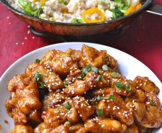 Spicy Kung Pao Chicken {Gluten Free}