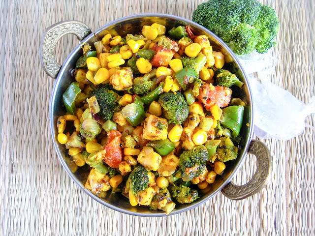 Broccoli Stir Fry Recipe / Sautéed Broccoli / Pan Fried Broccoli