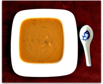 How Sweet It is! Sweet and Savory Roasted Sweet Potato Soup