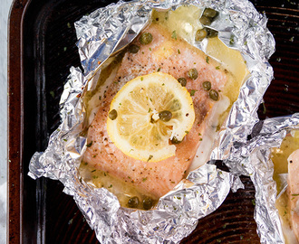 Lemon Caper Salmon