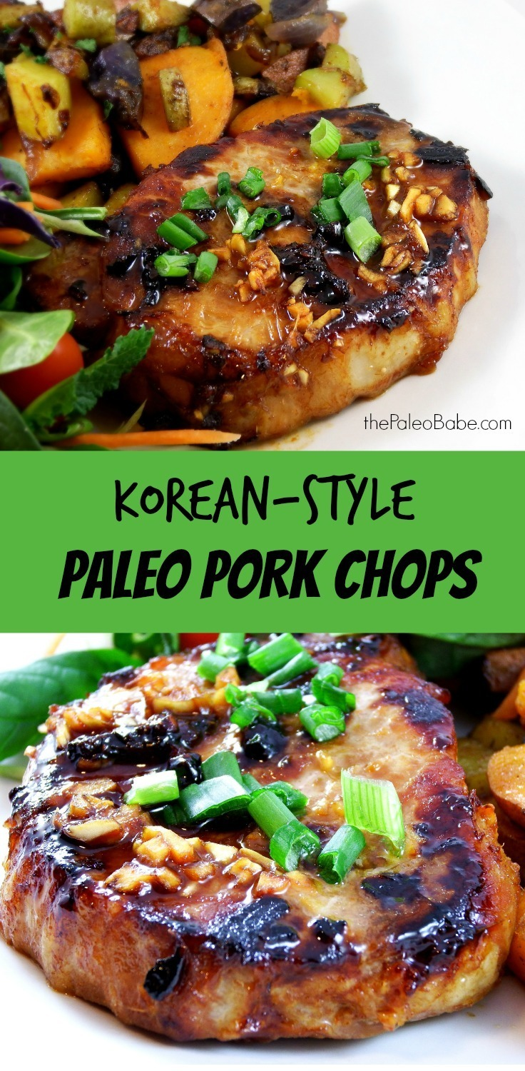 Paleo Korean Pork Chops Recipe