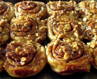 Sourdough Sticky Buns