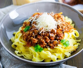 Tagliatelle with Pork & Fennel Ragu