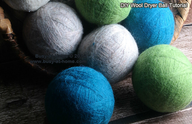 How to Make Wool Dryer Balls, Save Money and Make a Quick and Easy DIY Gift