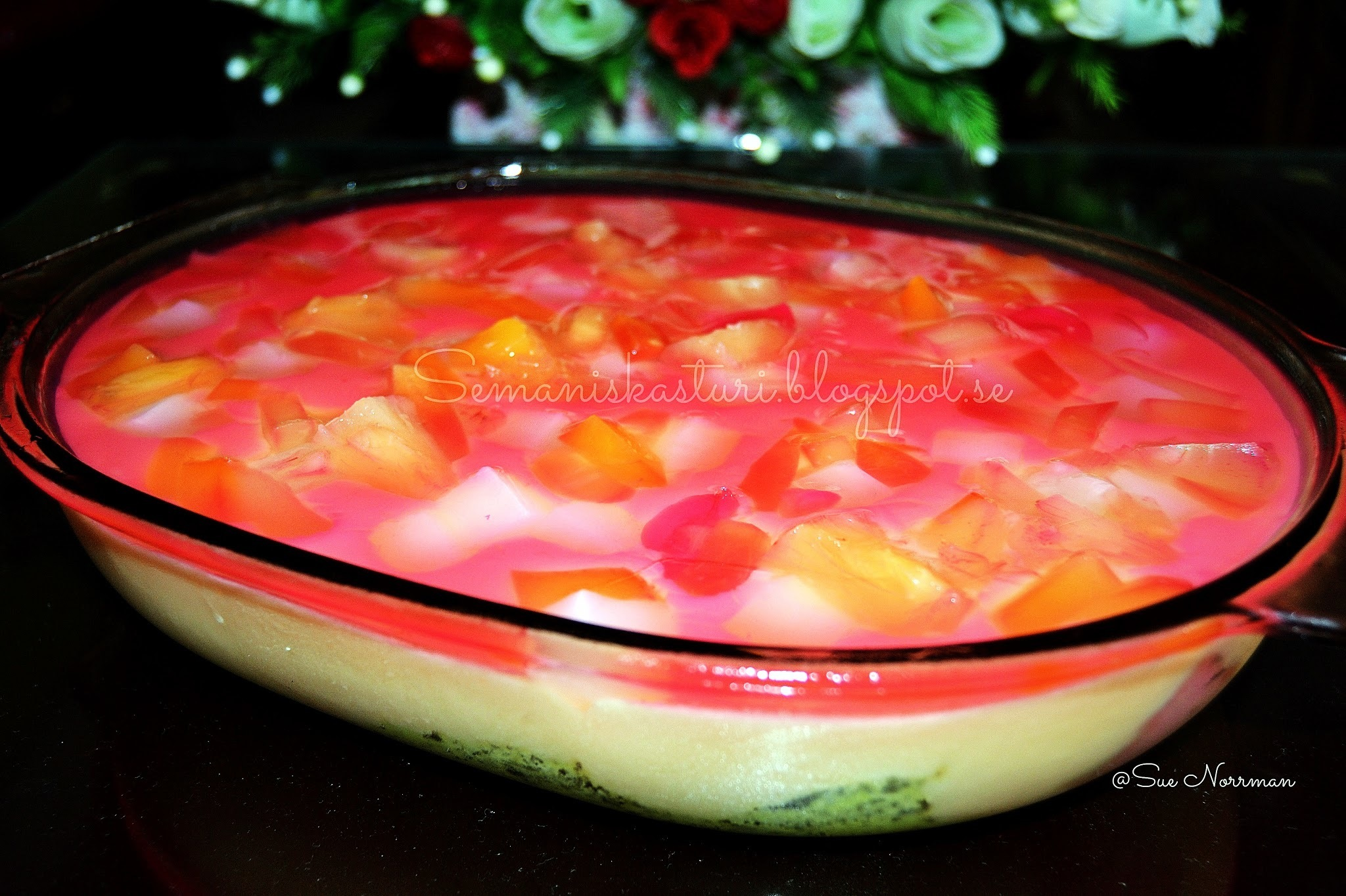 PUDING KASTAD DURIAN