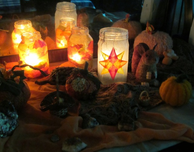Window Star Lantern (Tutorial) + St. Martin's Day - Art Every Day Month - Day 9