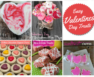 5 Easy Valentines Day Treats