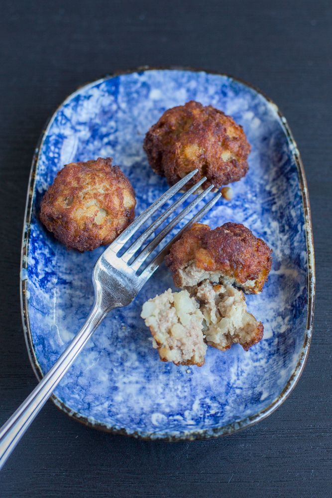 Indonesian Meat and Potato Fritters (Perkedel)