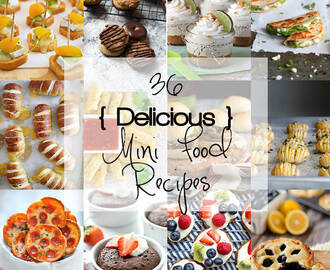 36 Delicious Mini Food Recipes!