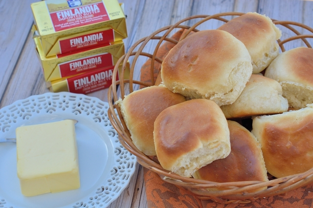 Easy Dinner Rolls and Gourmet Butter
