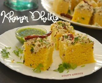 Khaman Dhokla - Instant Dhokla Recipe / Easy Dhokla Recipes
