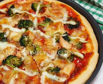 Pizza Ayam & Brokoli