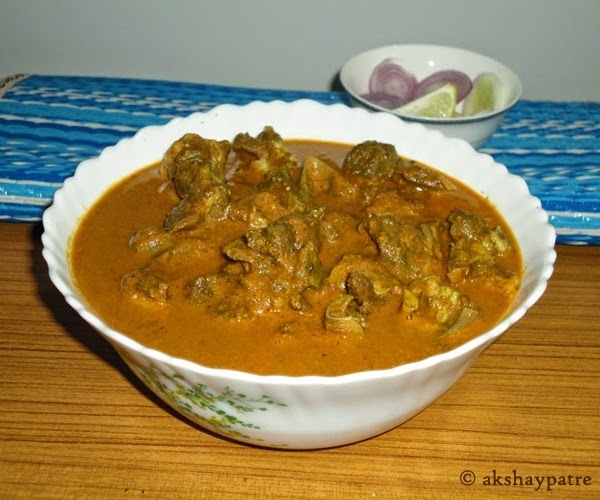 Goan spicy mutton curry
