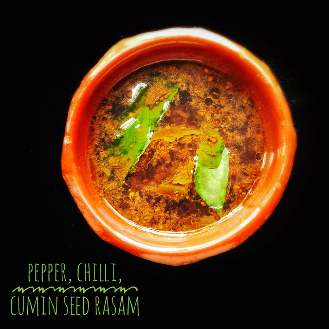 Pepper, Chilli, Cumin Seed Rasam