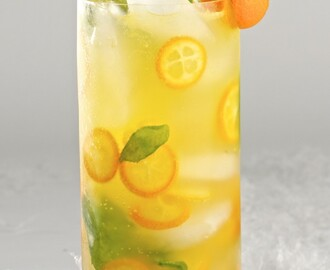 Kumquats cocktail