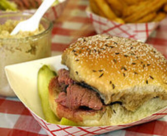 One of America's Favorites – Beef on Weck