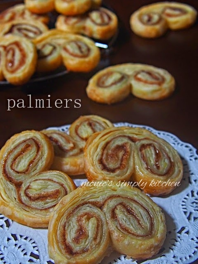 Resep Palmiers Puff Pastry Instan