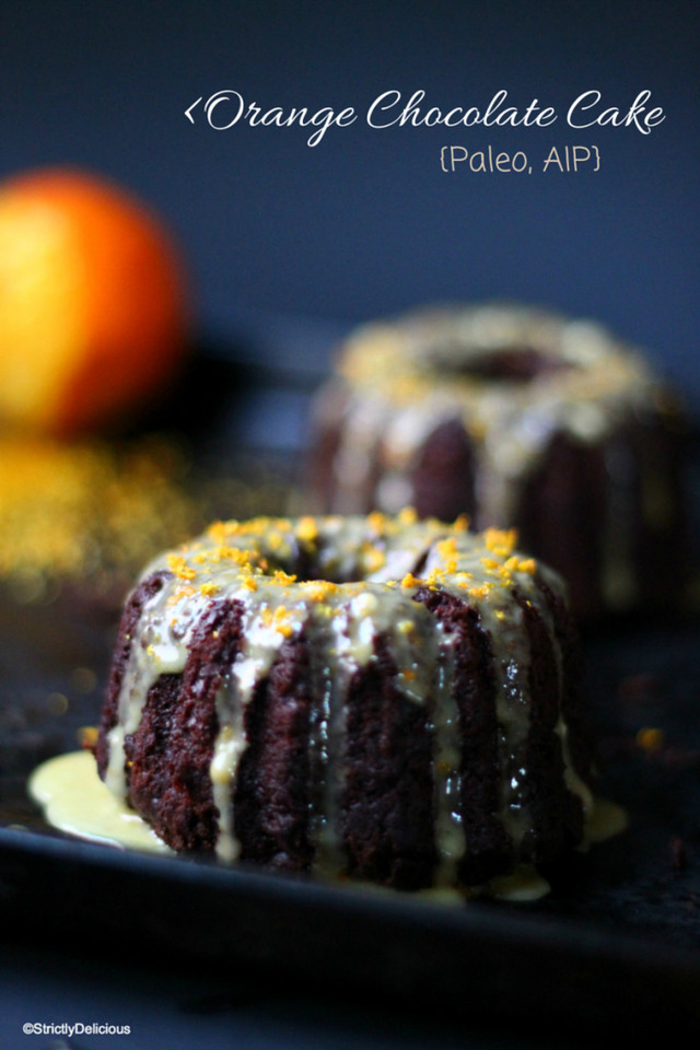 "Grain-Free Orange ""Chocolate"" Cake {AIP}"