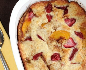 Strawberry Peach Cobbler