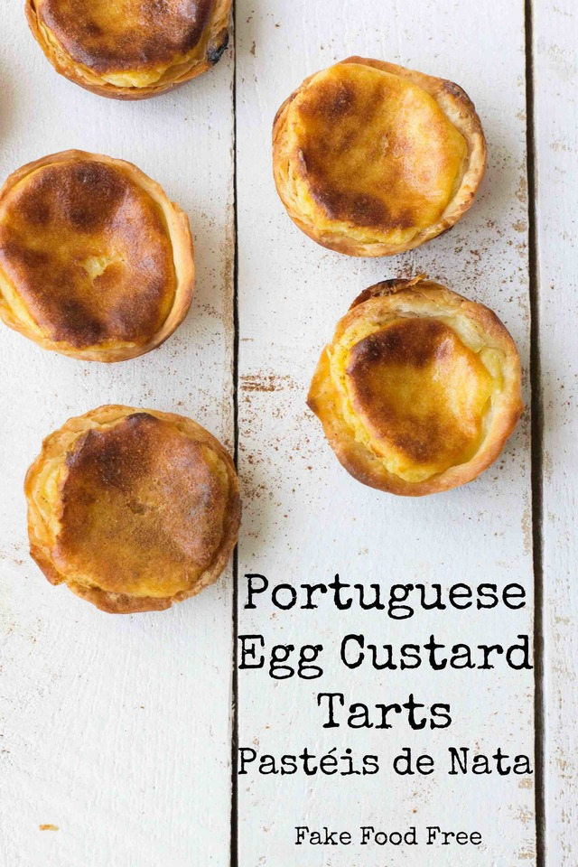 Crispy Egg Custard Tarts (Pastéis de Nata) from My Portugal by George Mendes