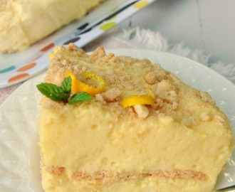 Pineapple-Orange Cream Pie (No-Bake)