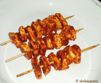 Paneer tikka | How to make paneer tikka